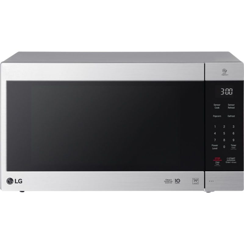 Lg Lmc2075 24 Inch Wide 2 0 Cu Ft 1200 Watt Countertop Microwave With Smart In Stainless Steel Microwave Ovens Microwave Countertop Countertops Countertop Microwave Oven Microwave