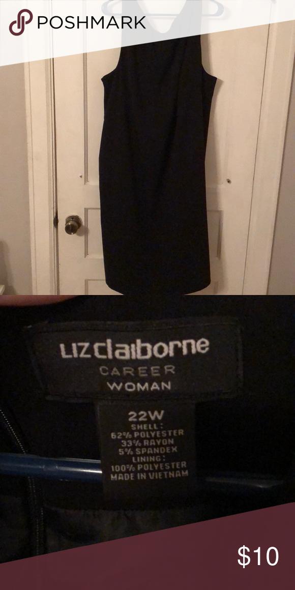 Liz Claiborne sheath dress plus size Worn once. Liz Claiborne ...