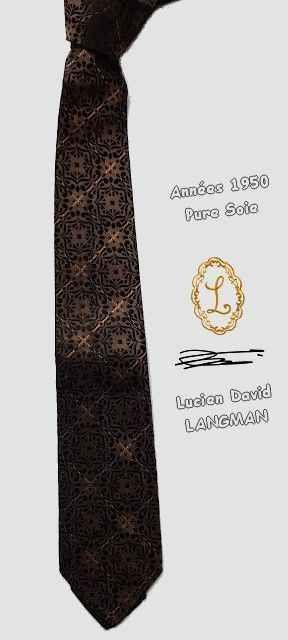 Les Années 50s Cravate Authentique