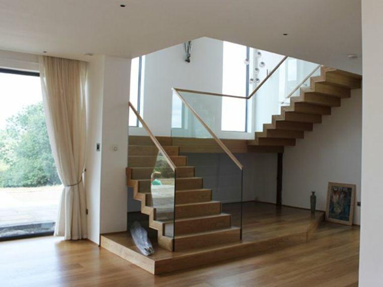 escaleras minimalistas para interiores Arquitectura Pinterest