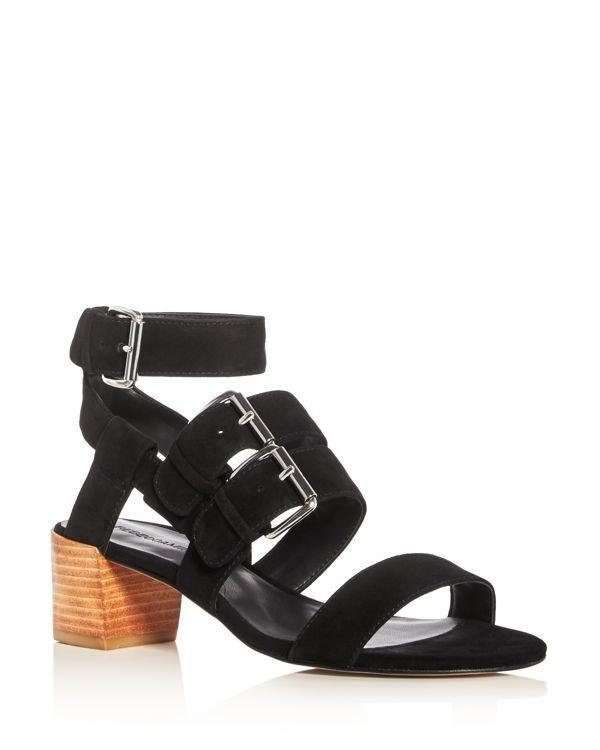 Rebecca Minkoff Ilana Buckle Mid Heel Sandals | Products
