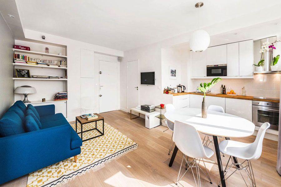 20 Best Small Open Plan Kitchen Living Room Design Ideas In 2020
