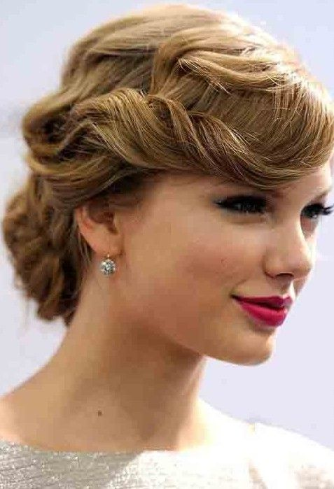 3 Taylor Swift Updo Hair Styles – PoPular Haircuts