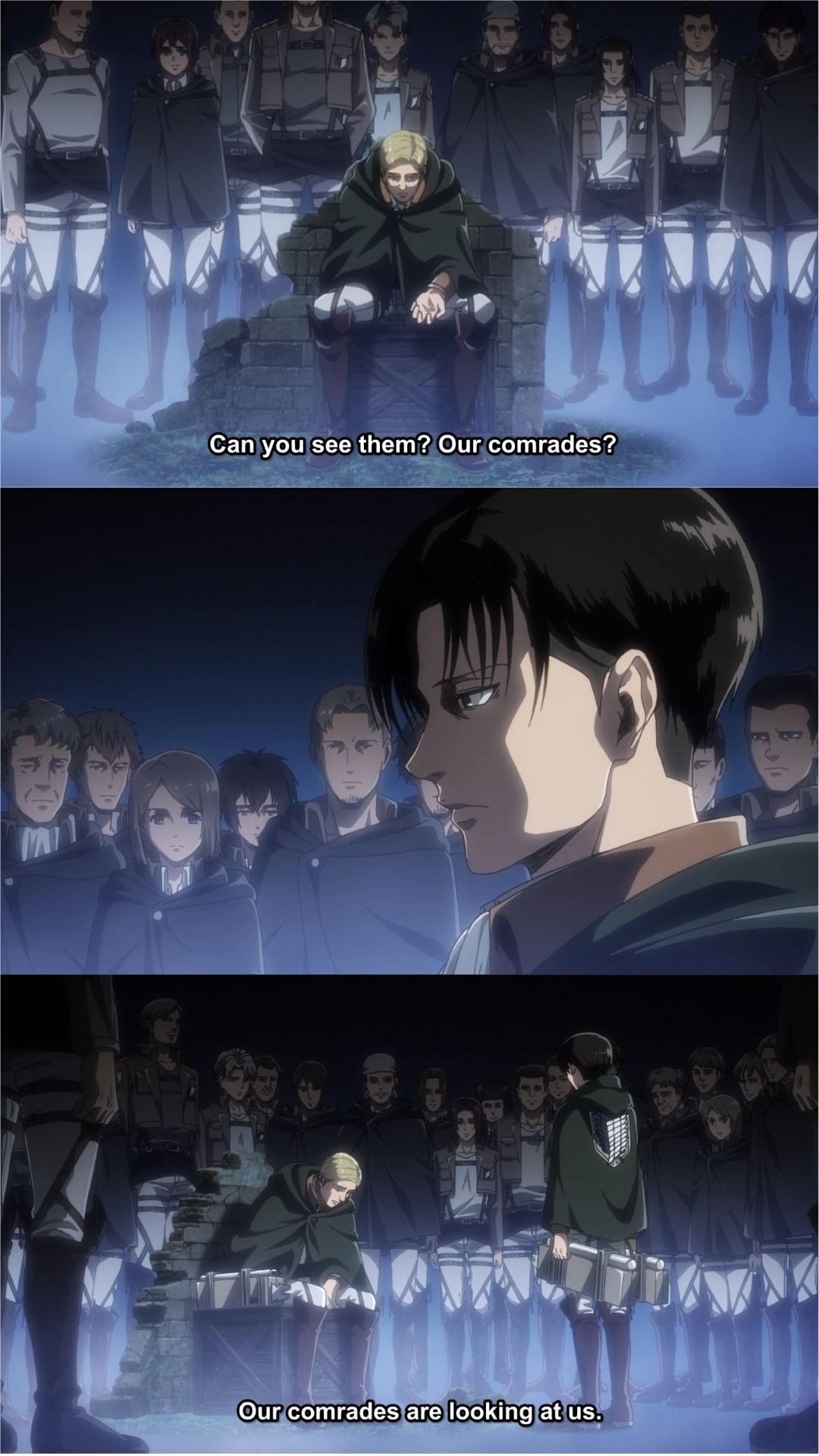 Erwin And Levi Attack On Titan Shingeki No Kyojin Season 3 Episode 16 Snk Shin Attack On Titan Fanart Attack On Titan Season Attack On Titan Aesthetic