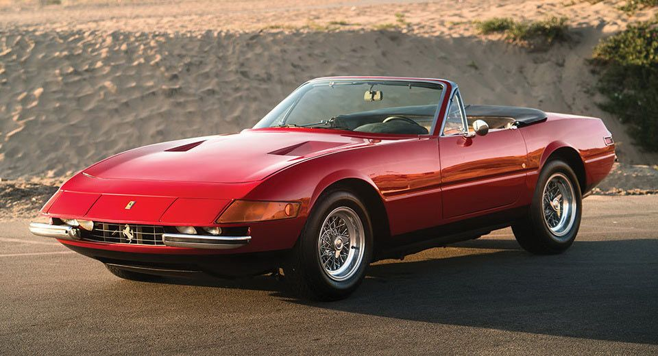 Original Ferrari Daytona Spider Is Available For The First