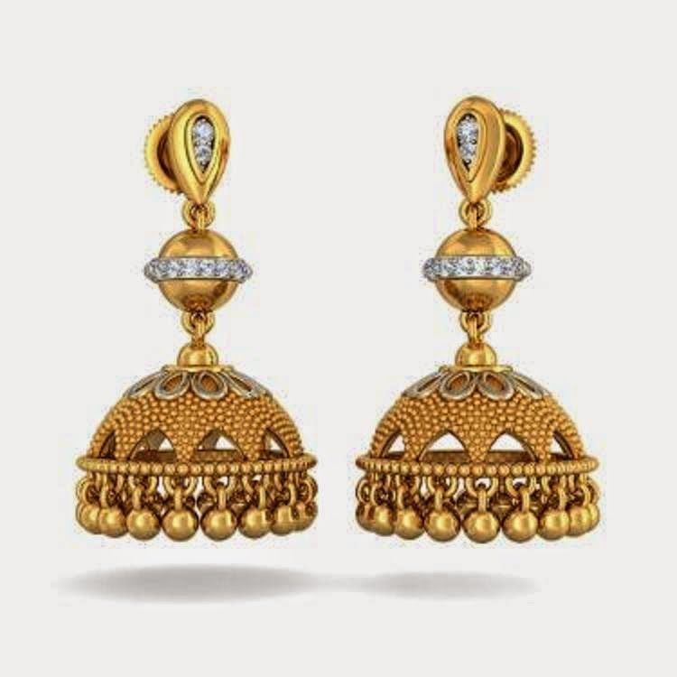 Gold Jewelry Earring Beautiful latest design 2015 (8) - | Girls ...