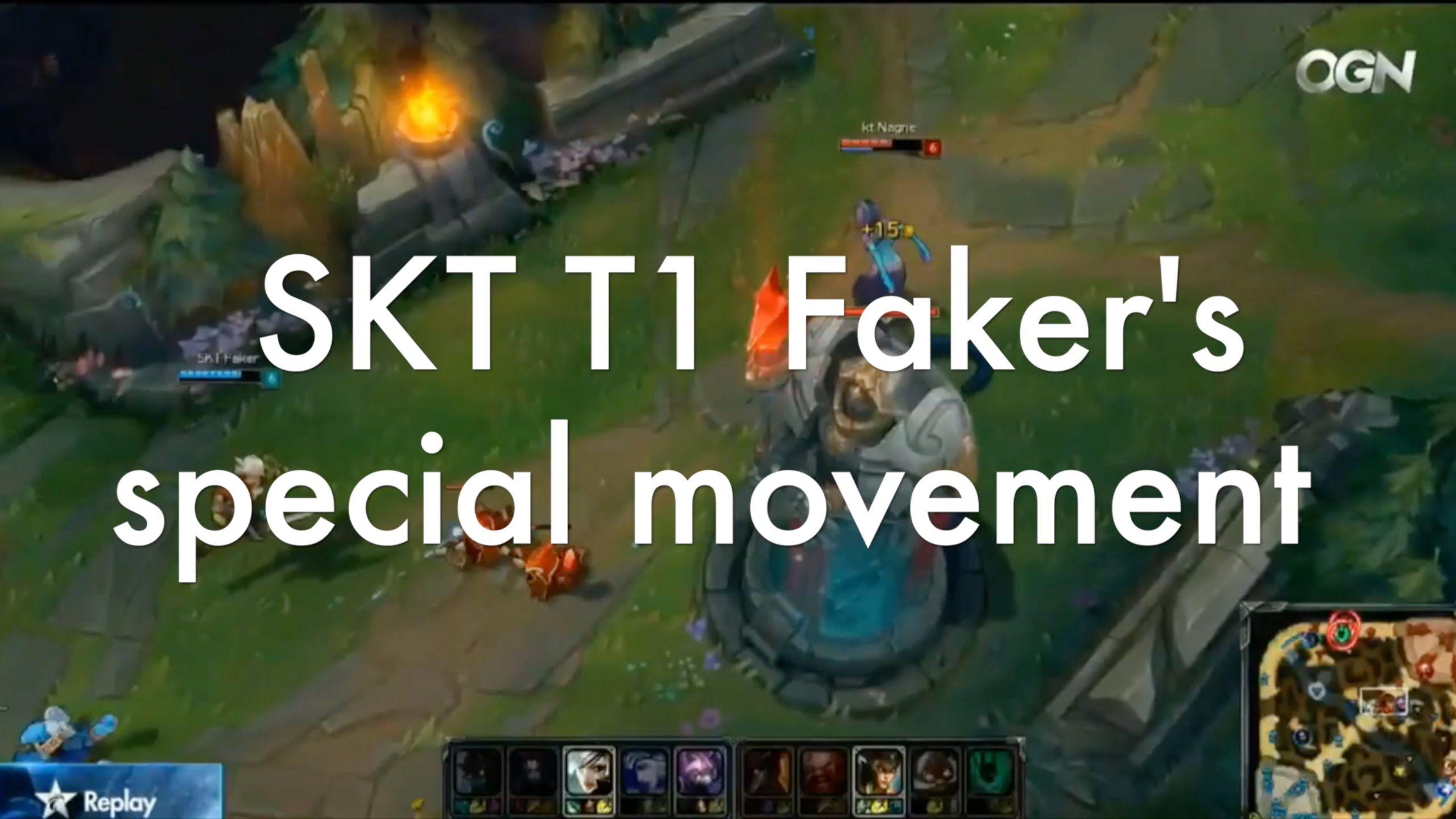 How to dodge (SKT T1 Faker version) / 페이커가 스킬을 피하는 방법
