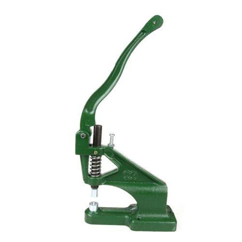 Manual Press Machine Rivet Grommets Eyelets Hole Setter Punch Dies Puncher