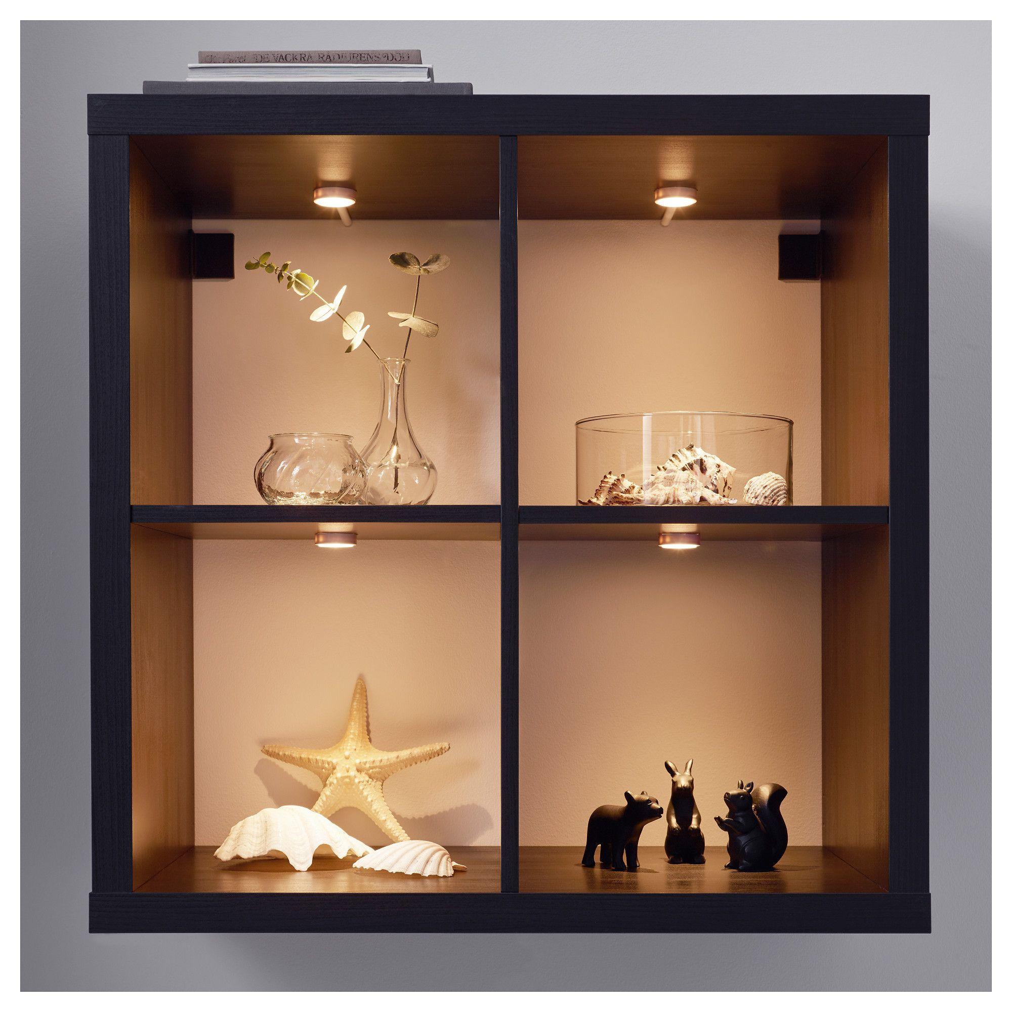 glass cabinet doors led spotlight
