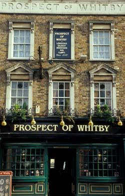 The Historic Pubs of London (Prospect of Whitby)