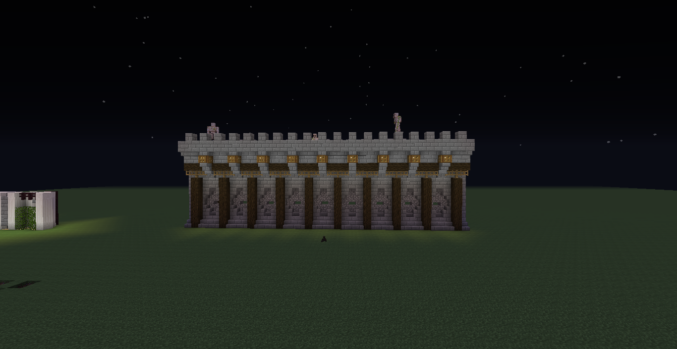 Wall Design Minecraft : Minecraft stone wall designs google s?k