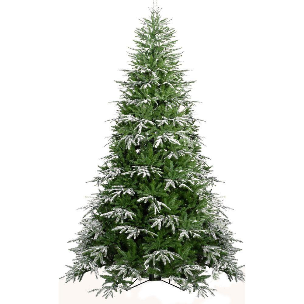 Fraser Hill Farm 7 5 Ft Hunter Fir Artificial Christmas Tree Ffhf075 0sn In 2020 Artificial Christmas Tree Realistic Christmas Trees Green Christmas Tree