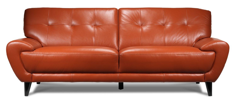 Leather Sofa Ottawa Modern Leather And Fabric Sofas