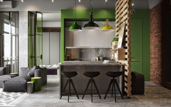 Small Studio Apartment With Industrial Design Creativeresidence