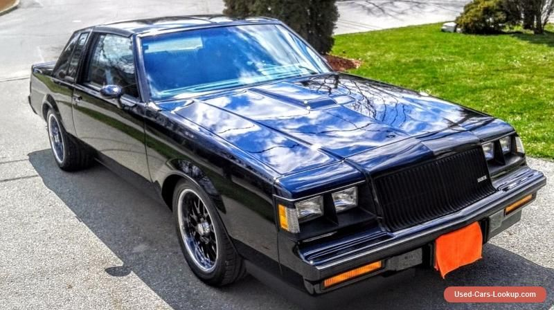 Buick Grand National buick grandnational forsale canada