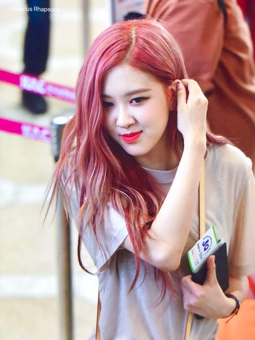 Aquarius Rhapsody on Rose pink hair, Pink hair, Blackpink