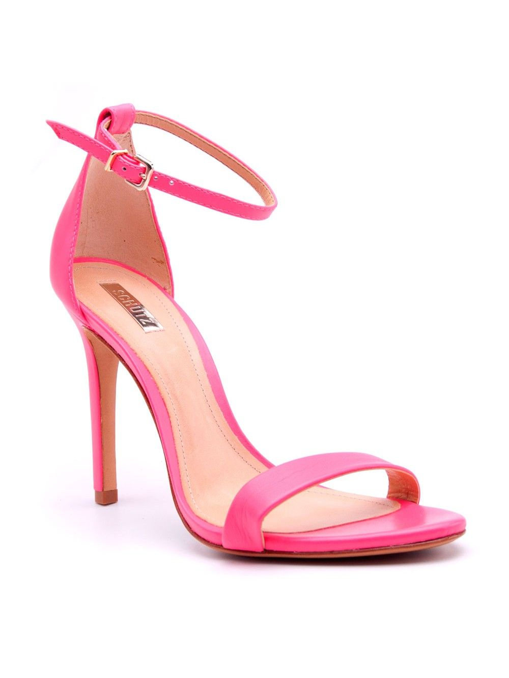 Schutz Neon Pink Cadey Lee Sandals | Shoes | Pinterest | Shoes ...