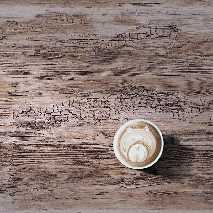Vinyl Wood Self Adhesive Peel And Stick Wallpaper