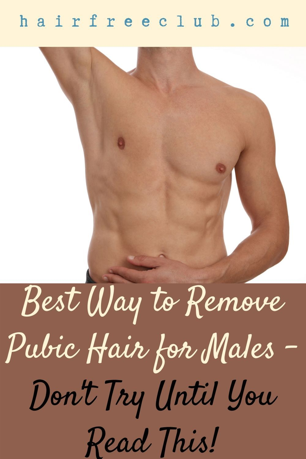 What Is The Best Way To Remove Facial Hair: Pin On Hair Removal For Men
