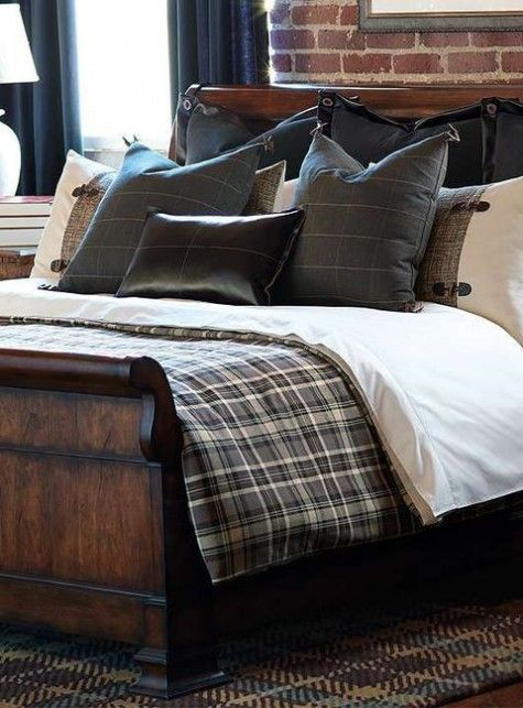 ComfyDwelling » Blog Archive » 57 Stylish Masculine Bedroom