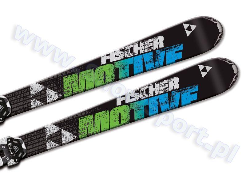 Narty Fischer Motive 86 Rocker Wiazania Attack 13 W O Brake 2014 Narty Zjazdowe Sklep Narciarski Snowsport Pl Rocker Attack Motives
