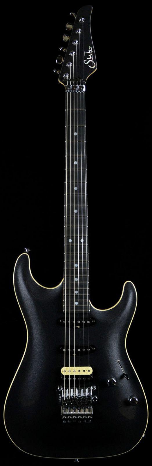 Suhr Carve Top Standard in Black Pearl Metallic w/ Ivoroid Binding - Brand NEW! | eBay