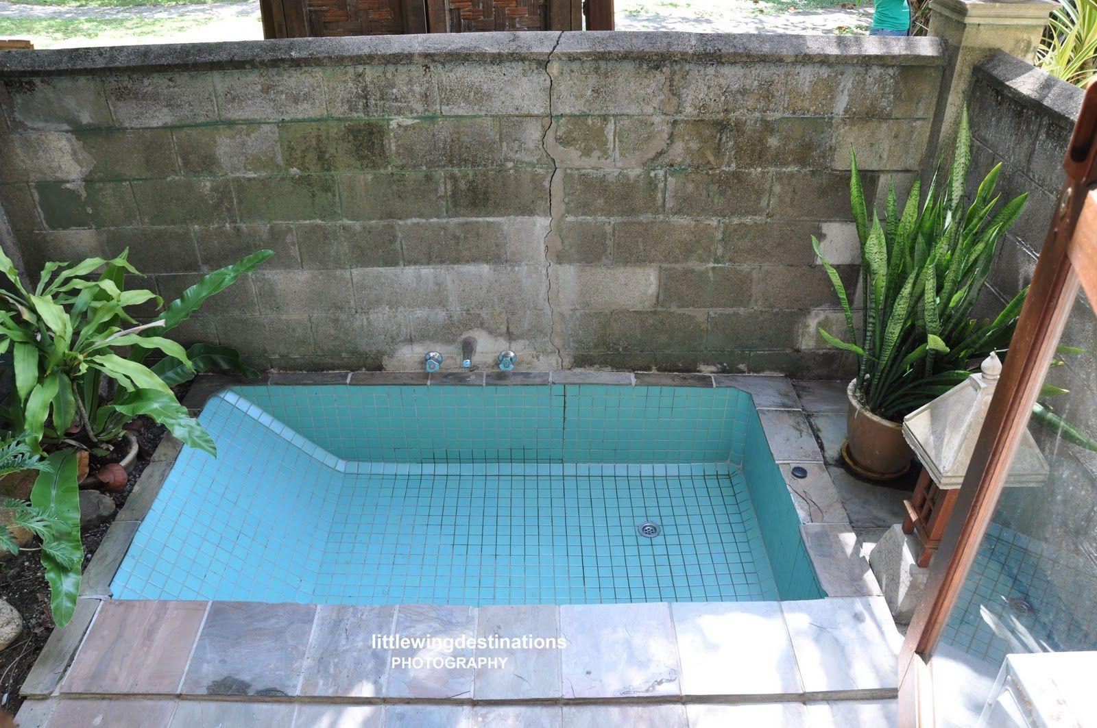 Inspiring Scheme For Impressive Outdoor Sunken Bathtub - Heated with ...