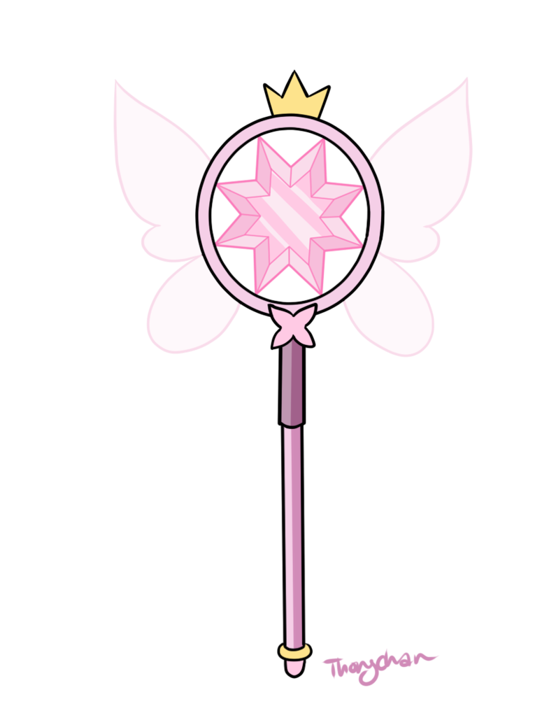 Wand of the butterfly heir by thongchan disney 39 s xd for Farbideen wand