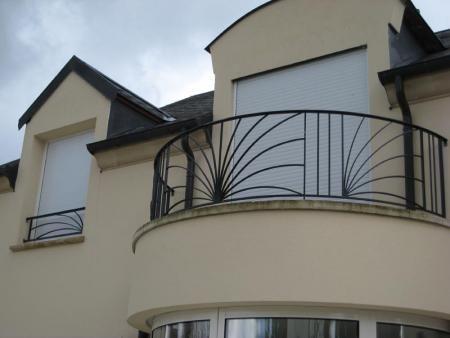 Garde corps fer forgé terrasses et balcons par cfa ferronnier d ...