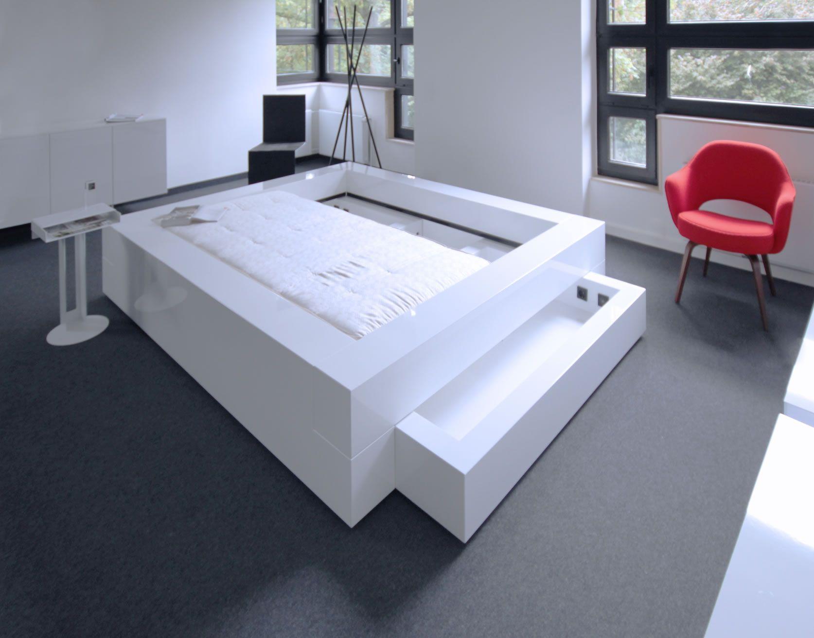 tolle bett 140x200 wei mit bettkasten - Fantastisch Tolles Dekoration Kinderbett Zum Ausziehen