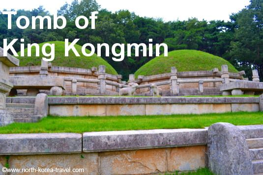 Tomb Of King Kongmin And His Mongolian Wife In Kaesong City North Korea These Tombs Have Undergone Little Restoratio North Korea Korea Travel Ultimate Travel