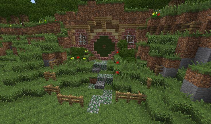 Hobbit Hole House nice minecraft hobbit hole house minecraft hobbit house 2015