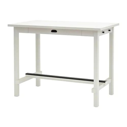 Nordviken Bar Table White 55 1 8x31 1 2 Bar Table Ikea Bar