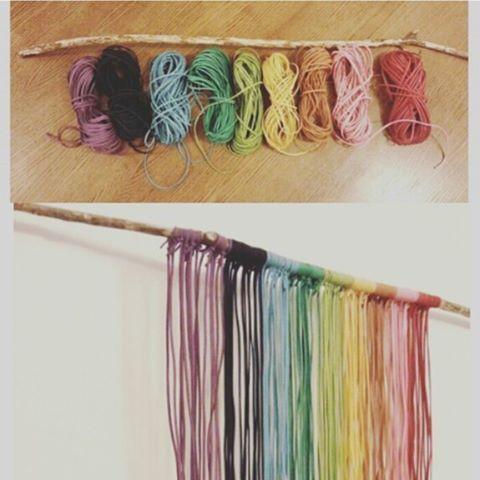 Rainbow #rainbow #color #diy #walldeco #swag #decor #decorations #homedecor #design #interiordesign #interior #idea #craft #deco #love #work #instagood #cute #top