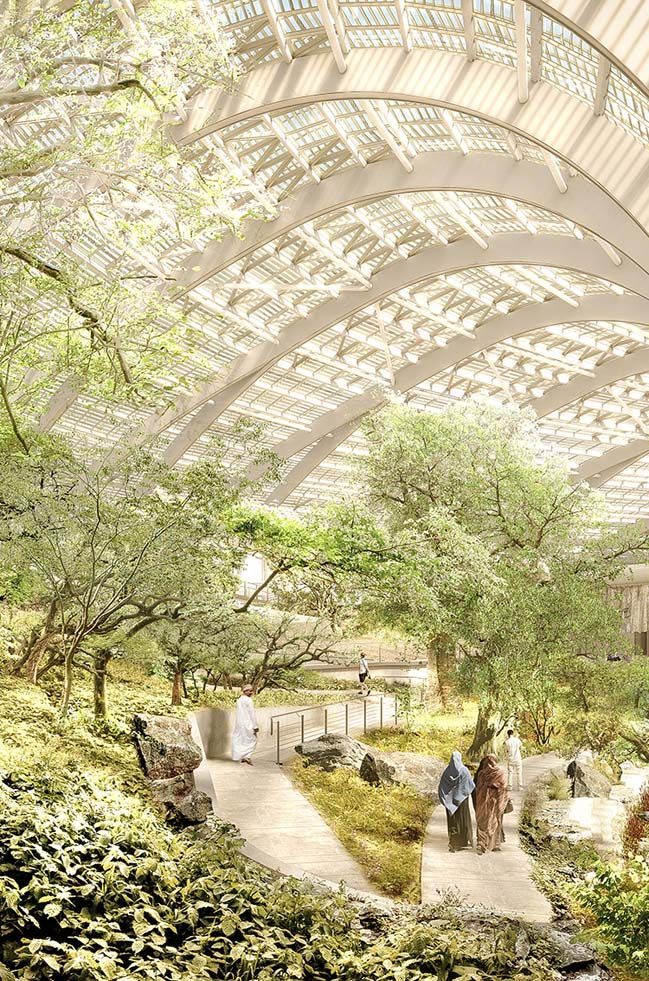 Oman Botanic Garden by Grimshaw Architects #botanicgarden