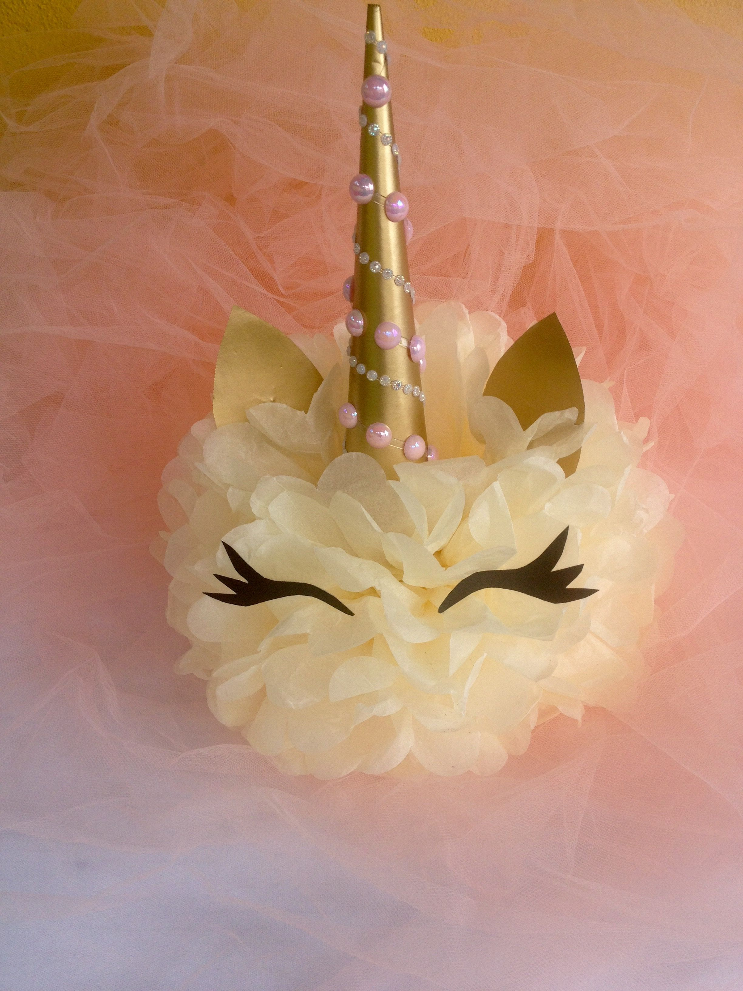 Unicorn Centerpiece Unicorn Centerpiece Birthdays