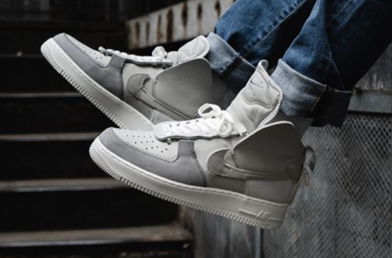 Look For The Psny X Nike Air Force 1 High Pack Wolf Grey Black White Now Nike Air Force Air Force 1 High Nike