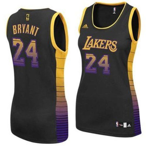 Kobe Bryant Los Angeles Lakers 24 Women S Nba Basketball Black Vibe Jersey Women Small Kobe Bryant Los Angeles Los Angeles Lakers Kobe Bryant