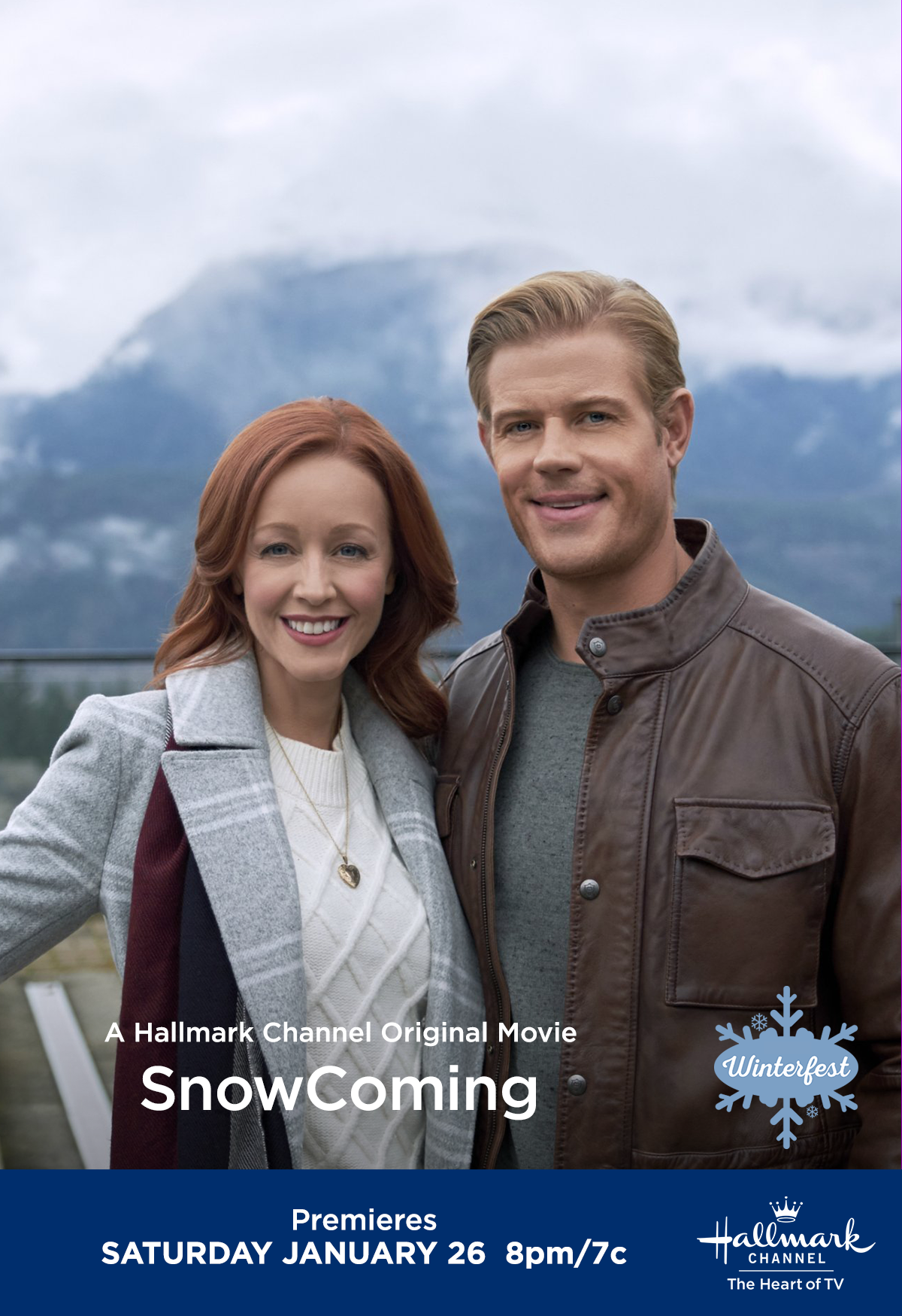 Hallmark favorites Lindy Booth and Trevor Donovan share