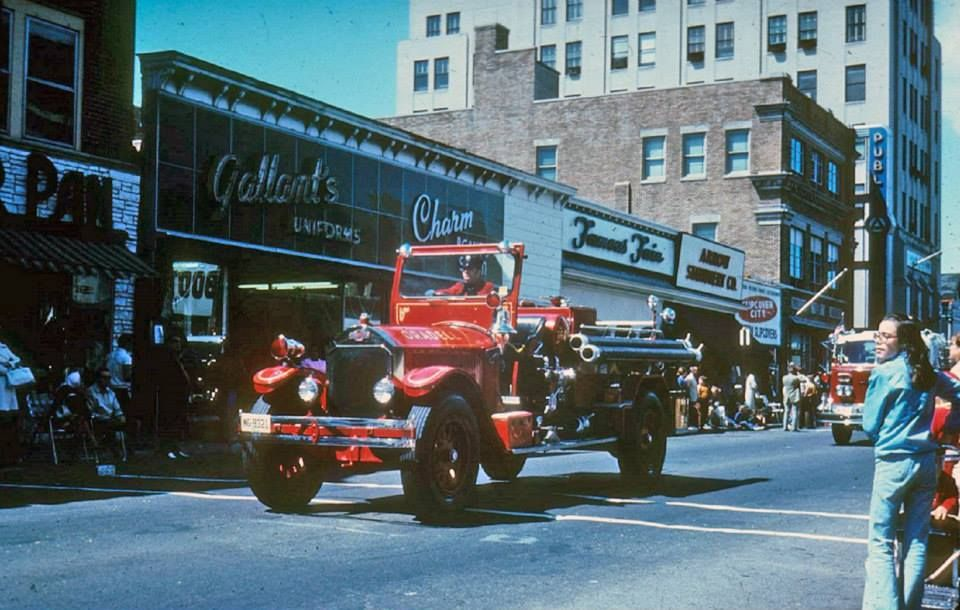1972 ~ NY & NJ Firemen's Parade, Main St  Hackensack