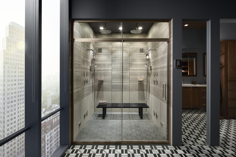 Let Your Shower Take You Away Bathroom Design Bathroom Trends Minimalist Bathroom