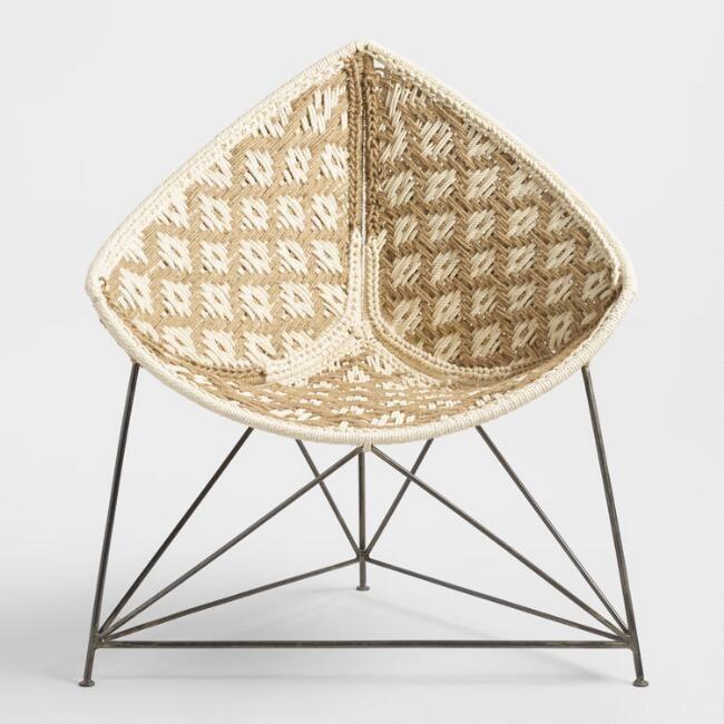 Superieur Jute Triangle Chair   V2