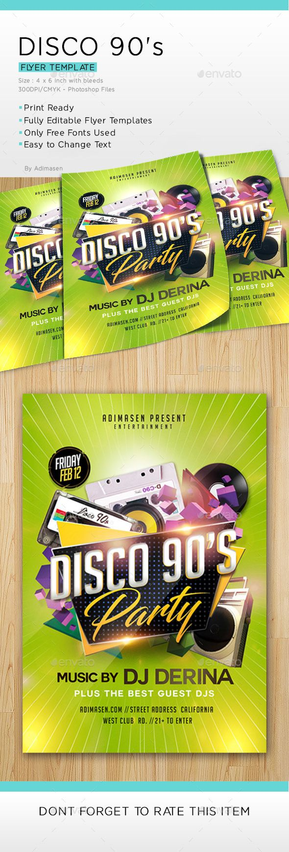 Disco 90 S Party Clubs Parties Events Download Here Https Graphicriver Net Item Disco 90s Party 19578149 Ref Alena994 90s Party Party Flyer Disco