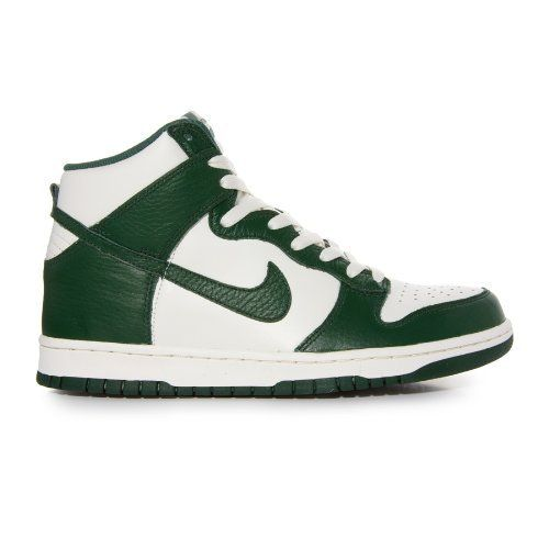 Nike Dunk High Sail White/Dark Green Summer Fashion Trainers Sneakers Men  Shoes on Sale