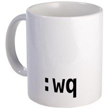 vi :wq Mug
