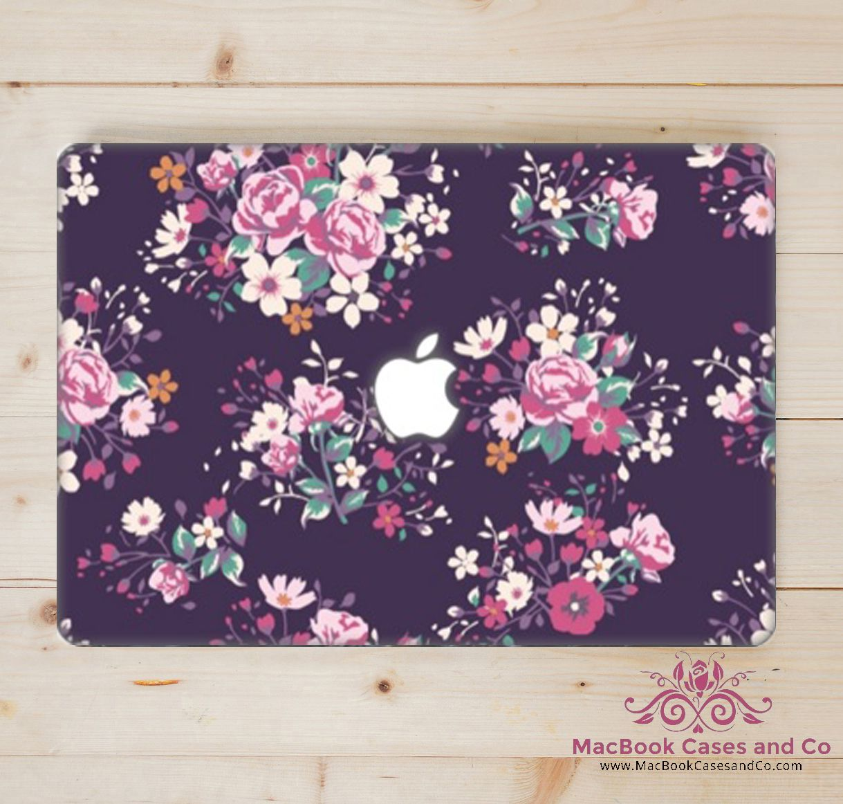 official photos 15a01 de49e Beautifully floral Macbook Case #macbookcasesandco #Macbookcase www ...
