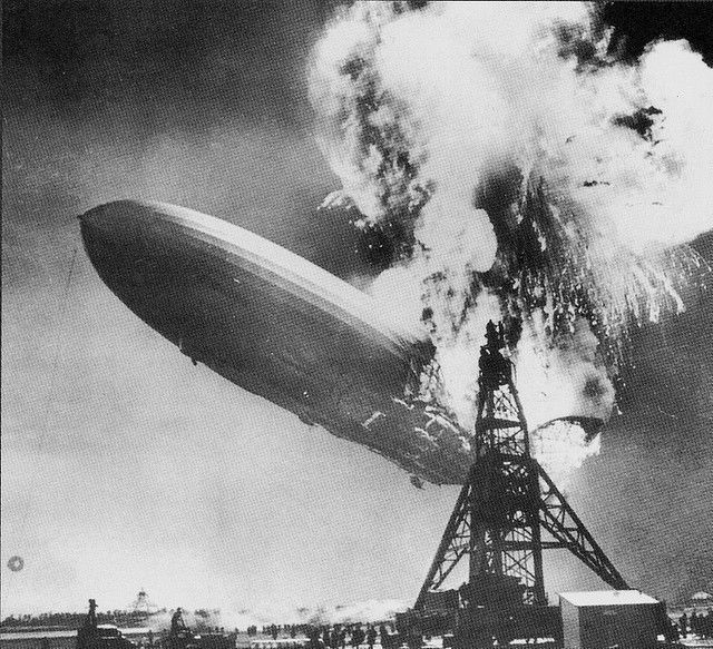 HINDENBURG DISASTER 1937 Rare historical photos