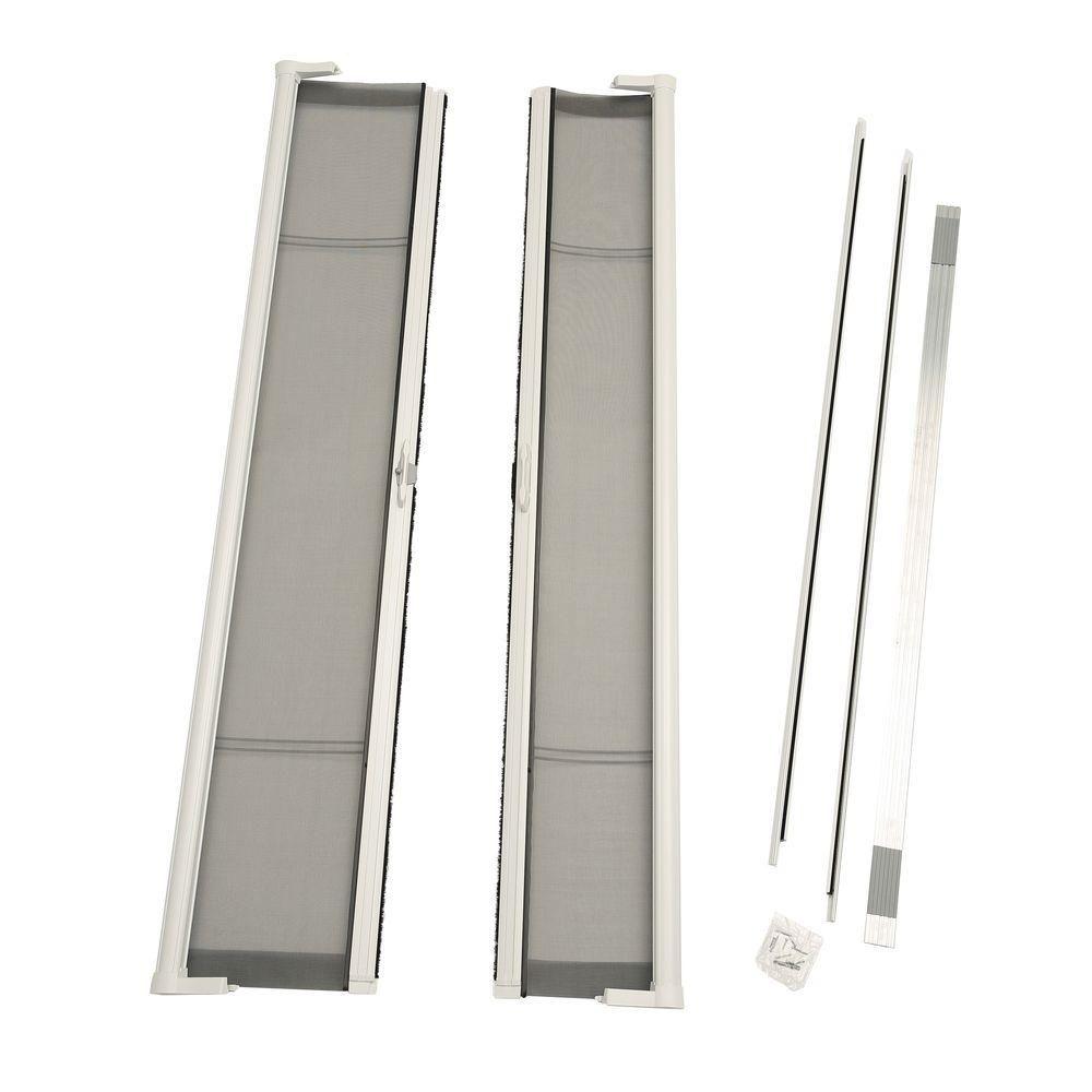 Larson 72 In X 80 In Brisa White Standard Height Double Door Kit