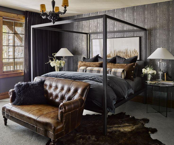 50+ Cozy Industrial Bedroom Inspiration
