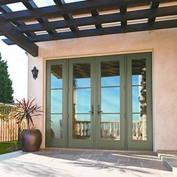 Andersen Windows:A Series Hinged Patio Doors   Outswing
